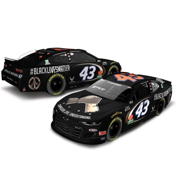 Bubba Wallace Action Racing 2020 #43 #BlackLivesMa